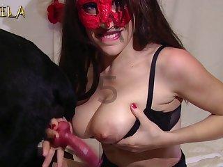 Exotic  Amateur Dog porn