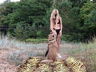 Amateur Dog porn Sarah
