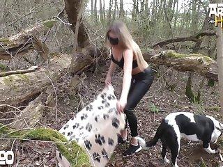 Amateur Dog porn Whore
